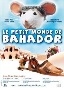 """Affiche de """"Le petit monde de Bahador"""""""